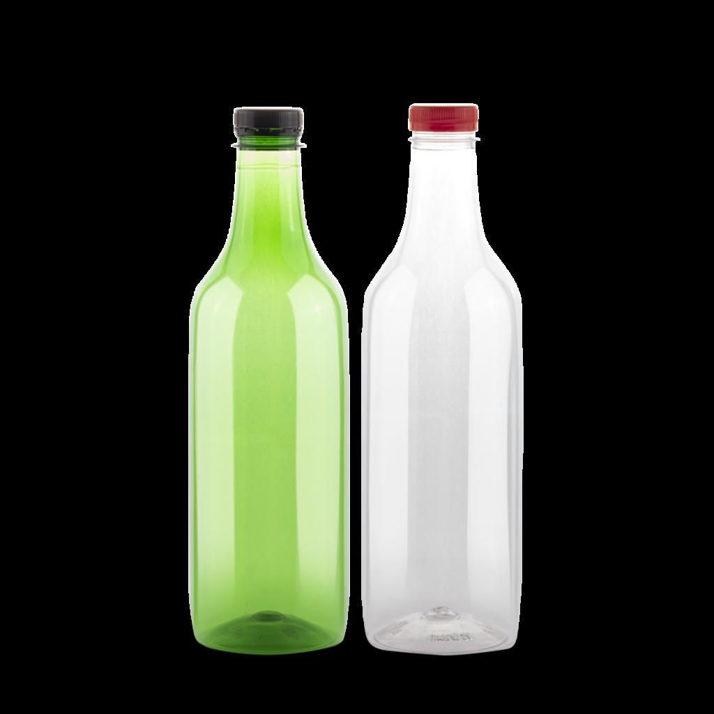 botella de plastico para vino