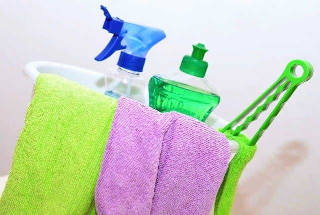 envases plásticos para limpieza